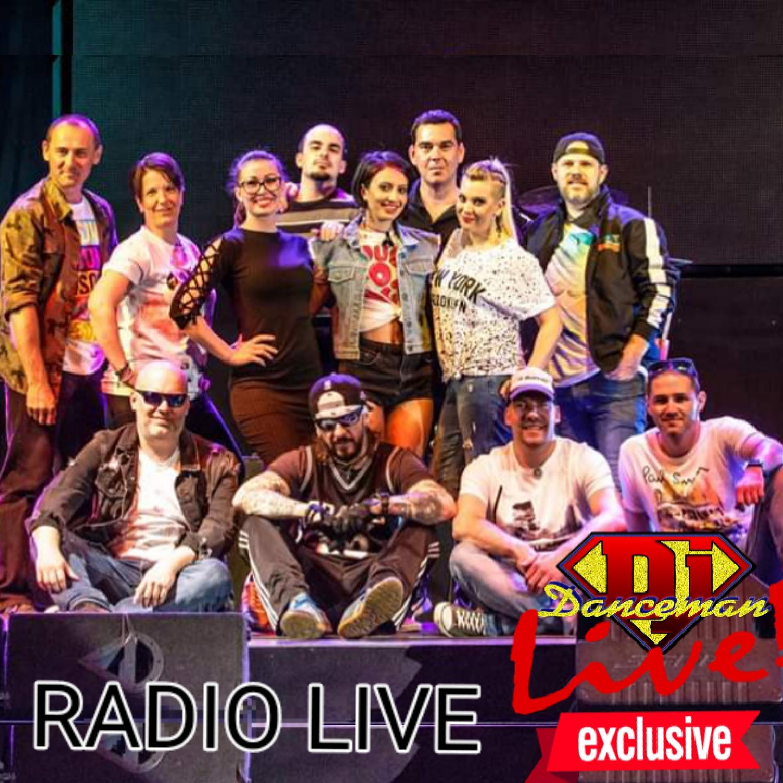 Dj Danceman Live Exklúziv - Kiss Péter, Radio Live