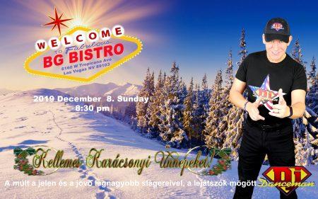 Karácsony Las Vegasban 2019 dec 8. -án Dj Dancemannnal